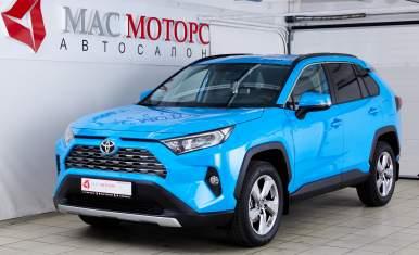 Toyota RAV4 Голубой